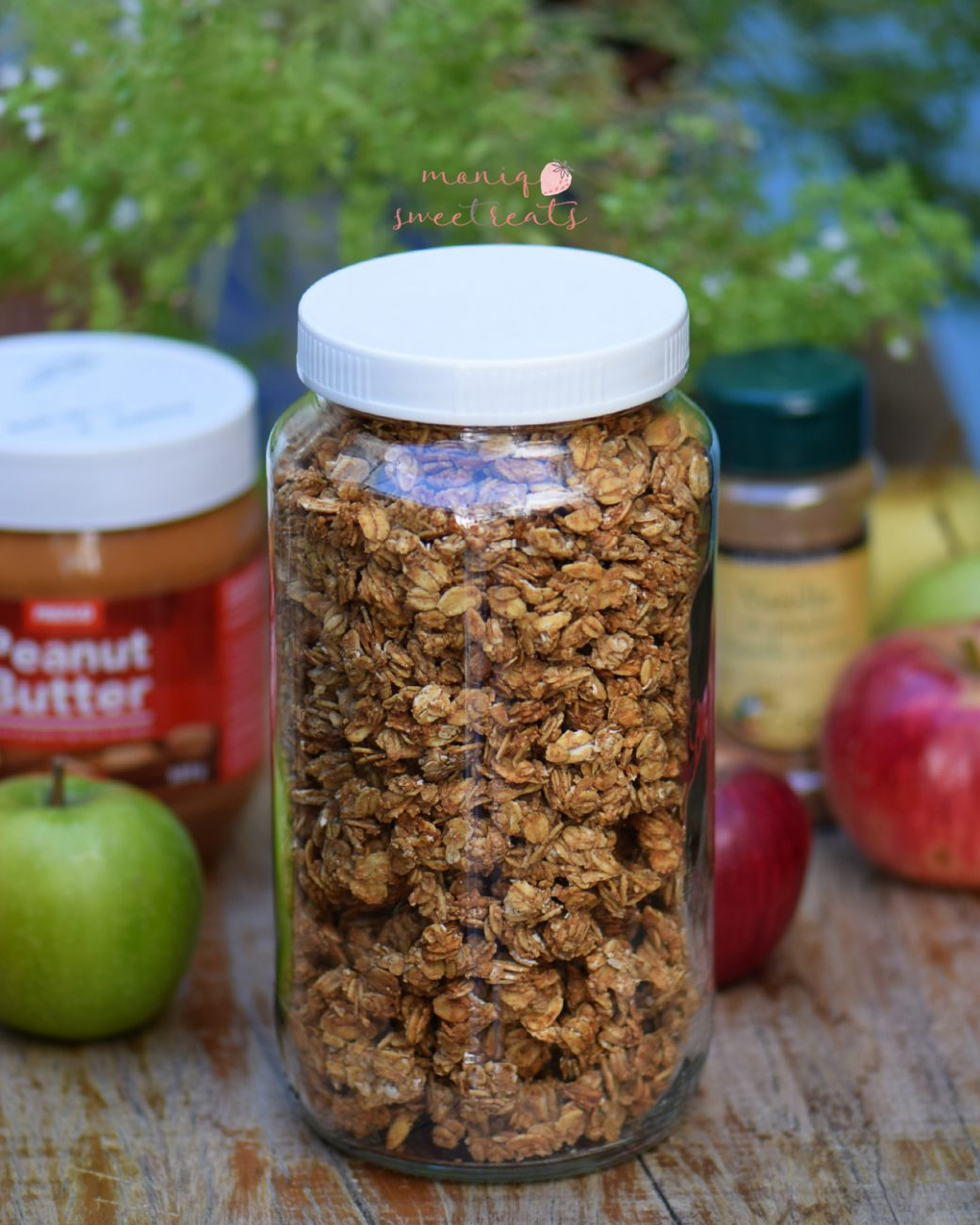 Granola com 4 ingredientes