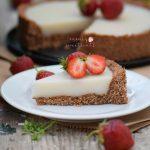 Cheesecake vegan (sem cajus)
